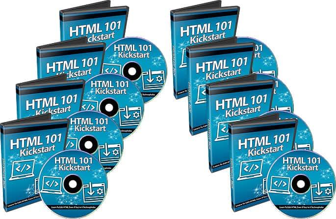 HTML 101 Toolkit PLR Video Course