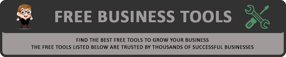 Free Business Tools Header