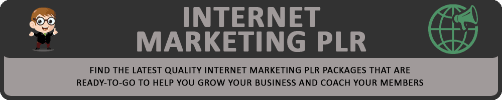 Internet Marketing PLR Header