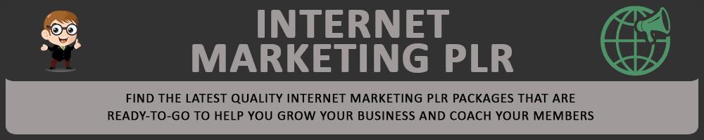 Internet Marketing PLR Header