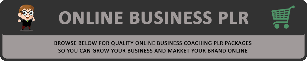 Online Business PLR Header