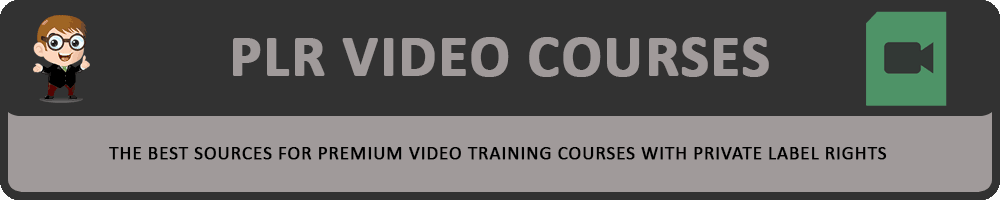 PLR Video Courses Directory Header