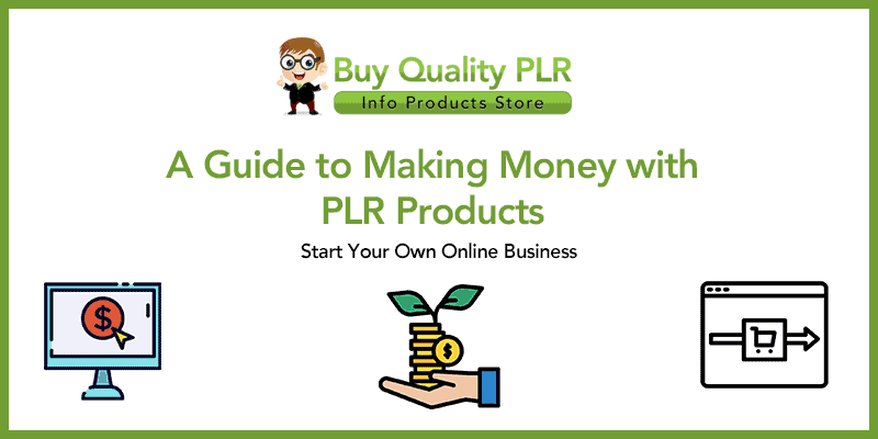 A Guide to Making Money with PLR Products