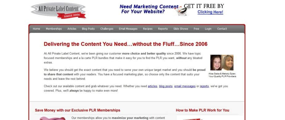 All Private Label Content PLR - High Quality PLR Content Packs and Memberships