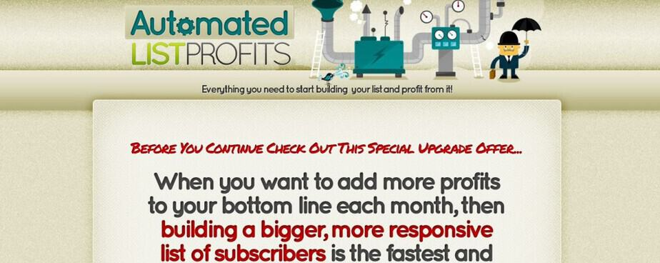 Automated List Profits PLR - List Building PLR Reports Every Month