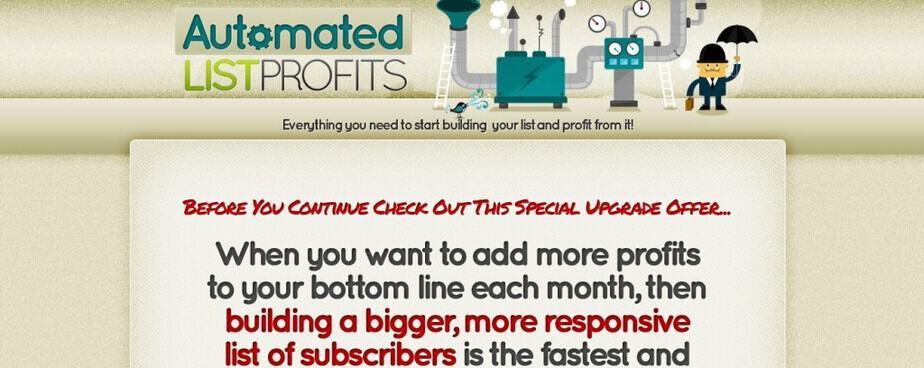 Automated List Profits PLR - List Building PLR Reports Every Month