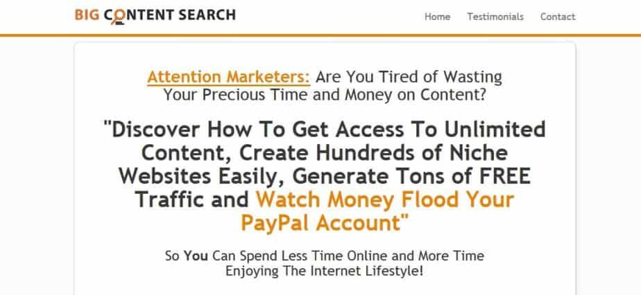 Big Content Search PLR Articles Database Membership