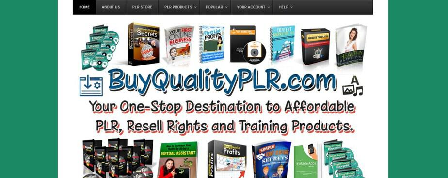 PLR and Resell Rights Shop