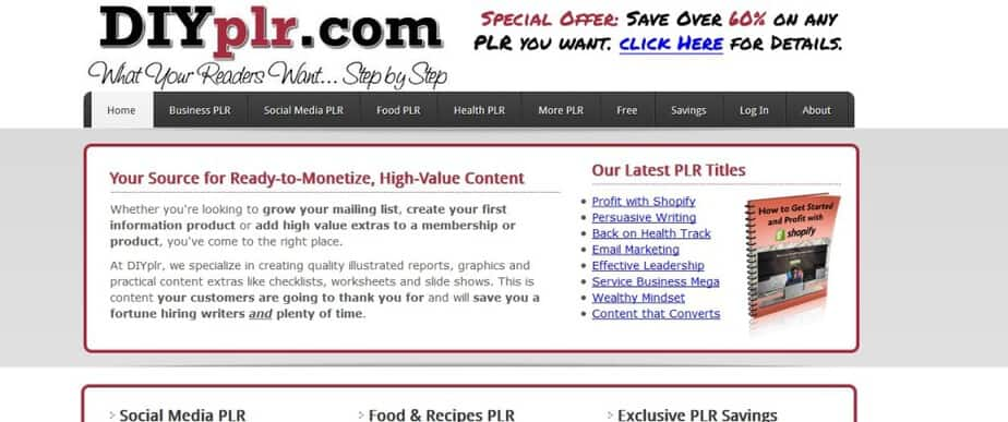 DIY PLR - Top Notch PLR Article Packs