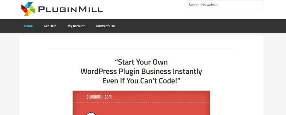 Plugin Mill PLR WordPress Plugins