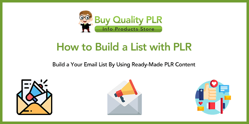 How to Build a List with PLR
