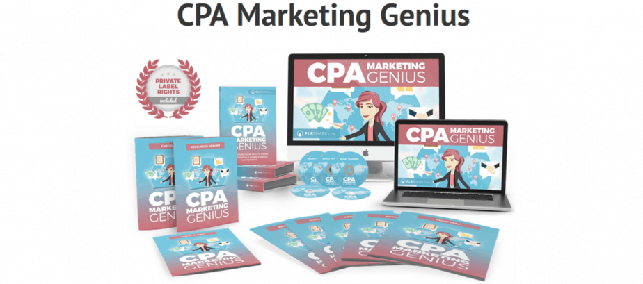 CPA Marketing Genius PLR Business in a Box