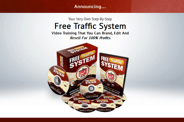 Free Traffic System PLR Business In A Box Package