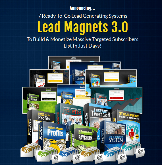 Lead Magnets V 3.0 PLR Business In A Box Package