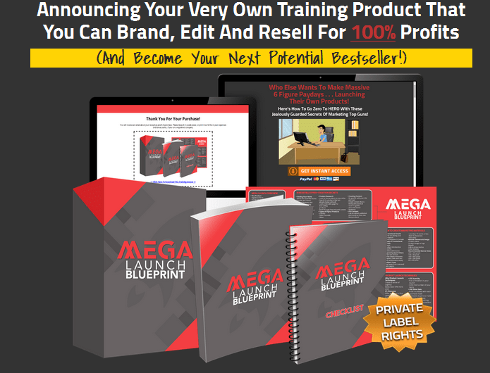 Mega Launch Blueprint PLR Business In A Box Package