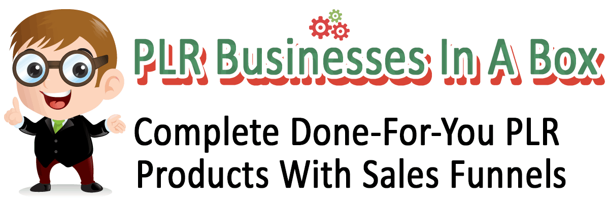 PLR Businesses In A Box Sales Funnels