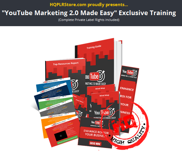 YouTube Marketing 2.0 PLR Business In A Box Package