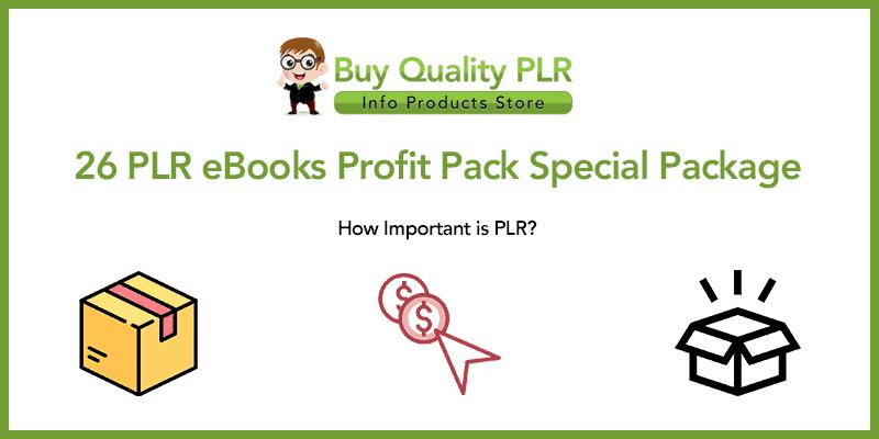26 PLR eBooks Profit Pack Special Package