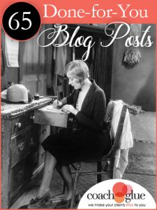 65 Done For You Blog Posts - Get $10 off