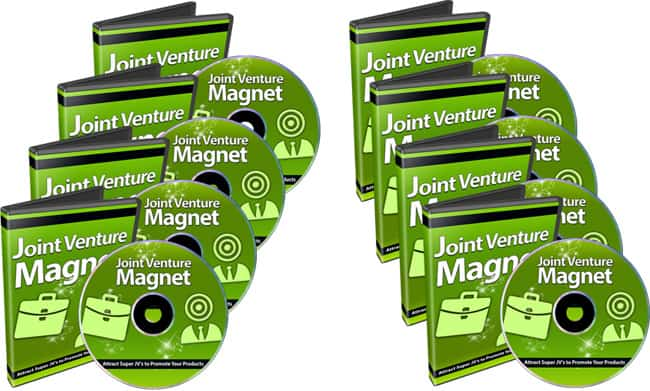 Joint Venture Magnet PLR Video Series with Reseller Toolkit