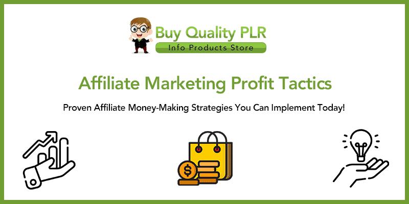 Affiliate Marketing Profit Tactics