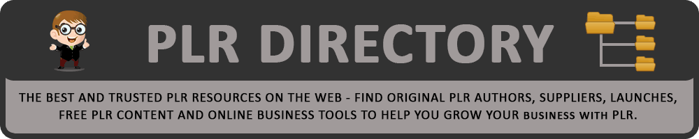 PLR Directory - Trusted PLR Suppliers Directory