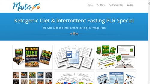 Ketogenic Diet and Intermittent Fasting PLR Pack