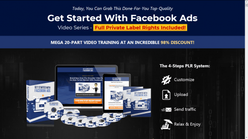 Getting Started with Facebook Ads PLR Video Course