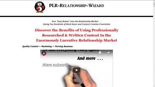 PLR Relationship Wizard
