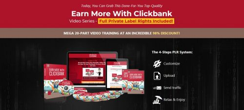 Earning with Clickbank PLR Video Series