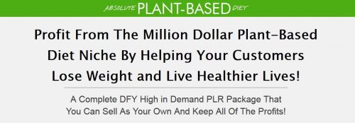 Plant-Based Diet PLR Bundle
