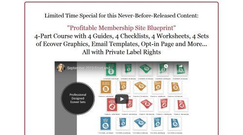 Profitable Membership Site Blueprint PLR Course