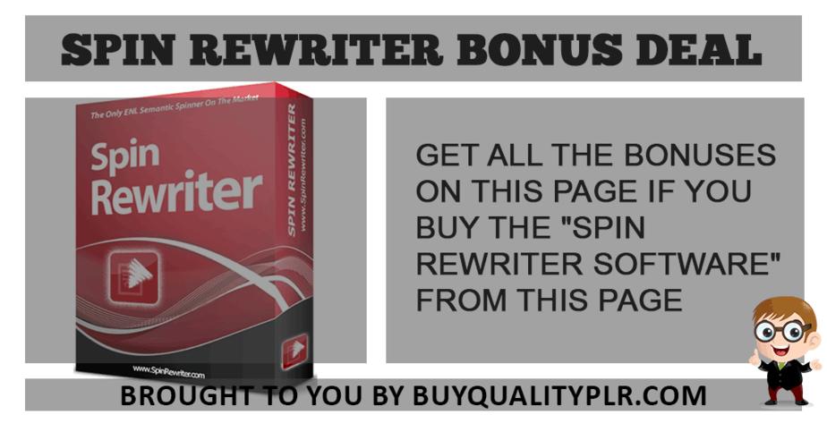 spin rewriter bonus