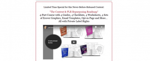 The Content and PLR Repurposing Roadmap