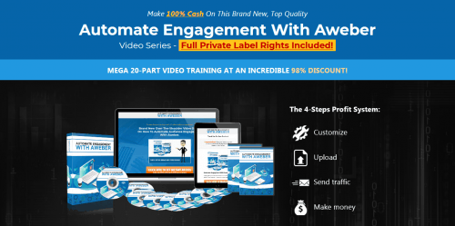 Automate Engagement With Aweber PLR Video Course