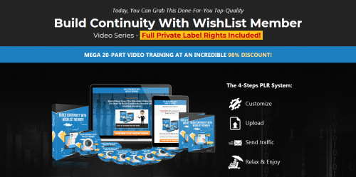 Build Membership Sites With WishList Member PLR Video Course
