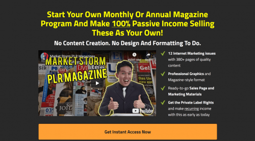 Market Storm Private Label Internet Marketing Magazines