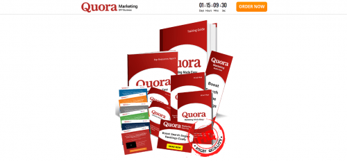 Quora Marketing DFY Business PLR Sales Funnel