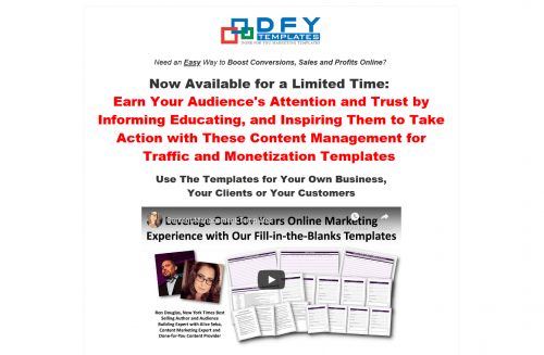 Content Management for Traffic and Monetization PLR Templates