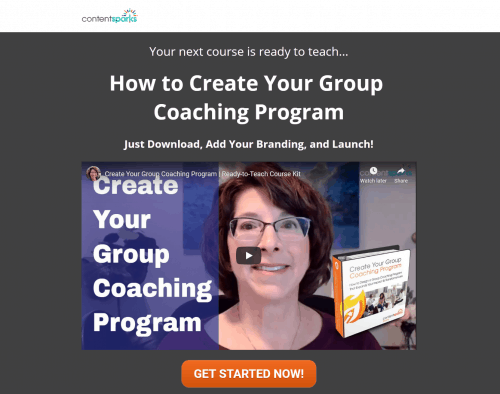 Create Your Group Coaching Program PLR Coaching Program