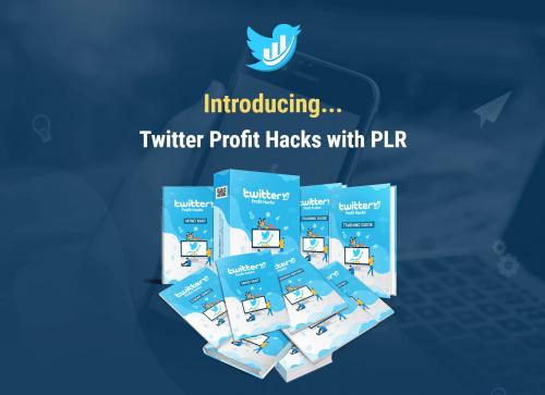 Twitter Profit Hacks PLR Sales Funnel 2020