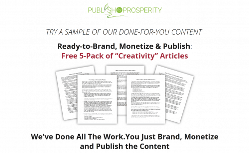 Unleash Your Inner Creativity Report and PLR Planner Pack