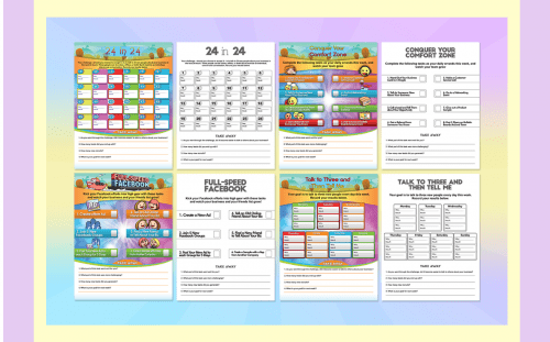 Challenge Your Team PLR Worksheet Kit – Free PLR Kit