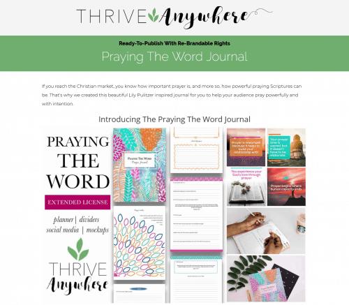 Prayer PLR Journal