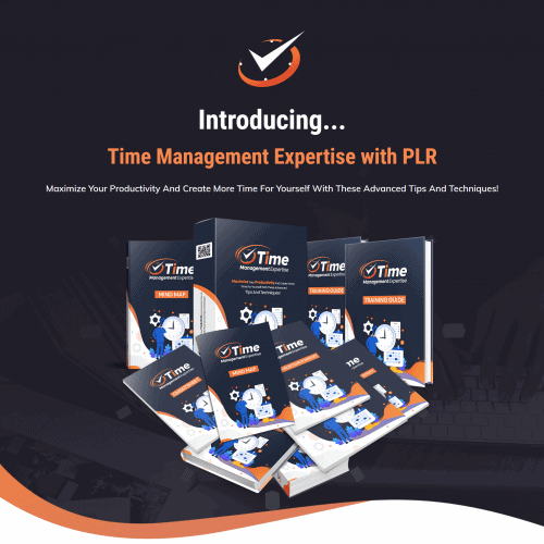 Time Management Expertise with PLR Package