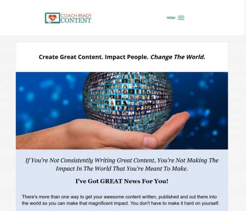 Coach Ready Content PLR Store Done-For-You Health And Wellness Content
