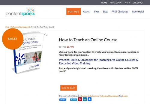 How to Teach an Online Course Brandable PLR Course