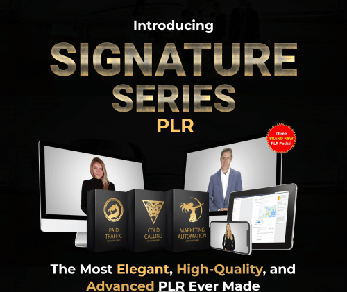 Signature Series 2020 PLR Videos with On-screen Presenters