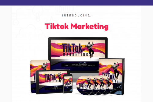 TikTok Marketing PLR Business In A Box
