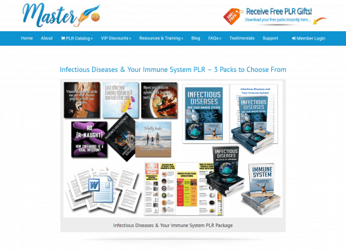 Infectious Diseases and Your Immune System PLR Bundle